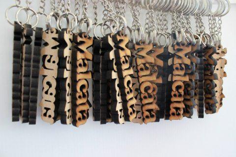 Imagem de porta-chaves personalizados