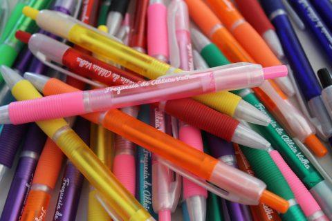 Imagem de canetas personalizadas