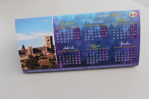 Imagem de calendário de cartolina