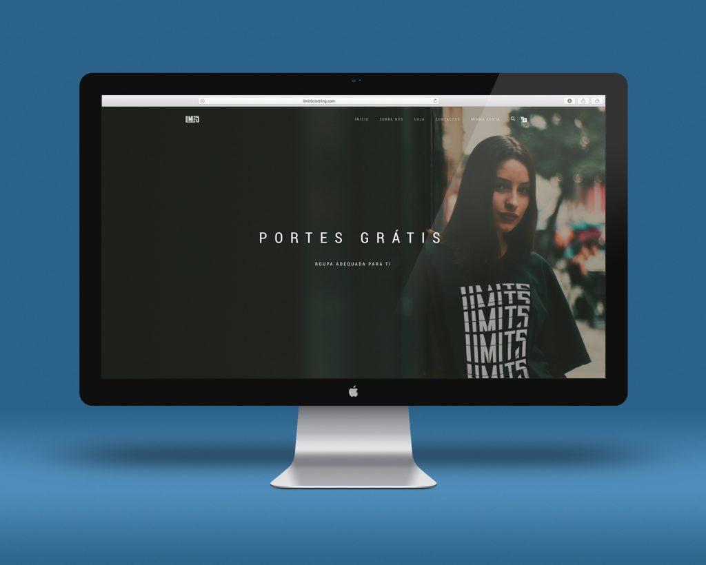 Imagem de site loja comercial